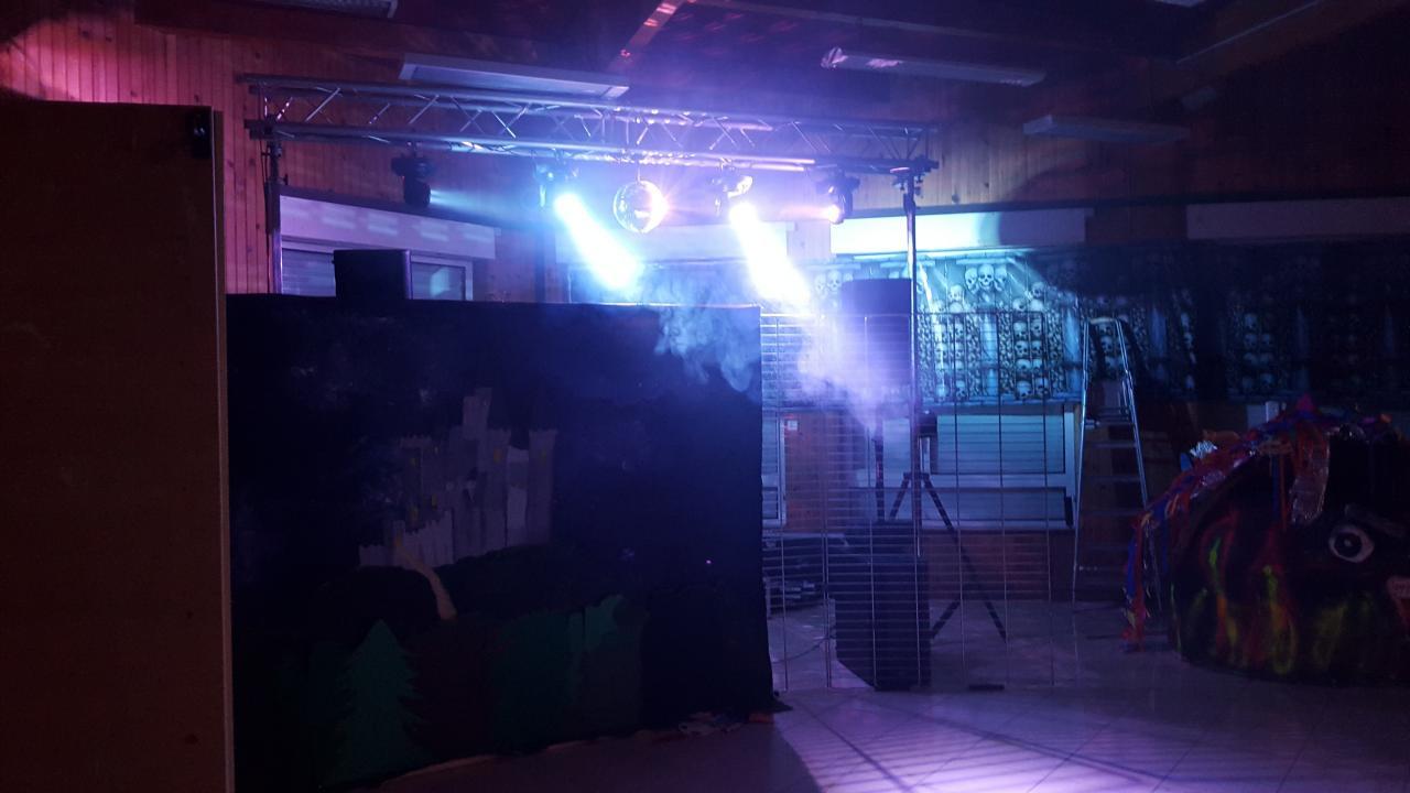 Préparation soirée Halloween 2015 - Champlan
