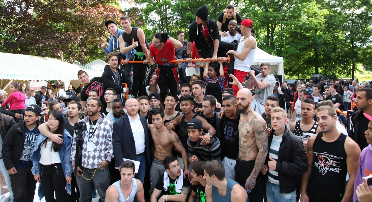 Street work out - Festiv'art 2015