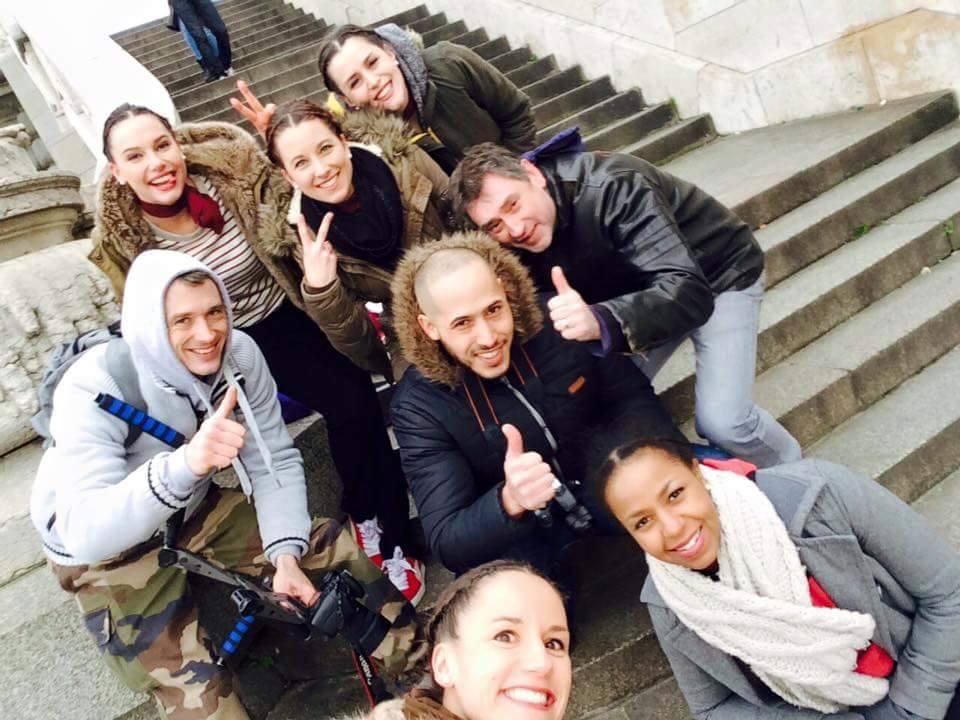 Tournage Teaser pour HoStyle - Photo d'équipe